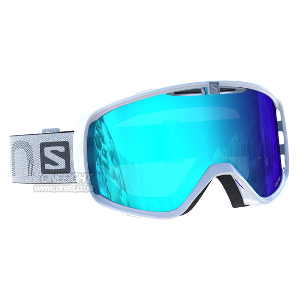 살로몬 유스 액시엄 고글 화이트 #BSA704W2 1718 SALOMON YOUTH AKSIUM WHITE/UNIV. MID BLUE L39082100