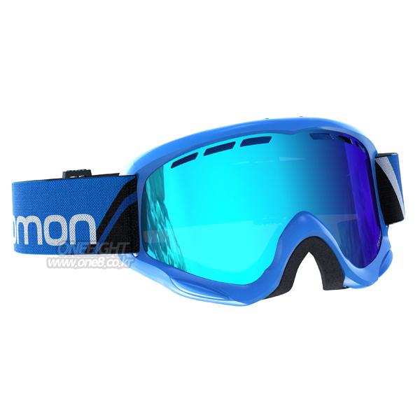 살로몬 유스 쥬크 고글 블루 #BSA705BU 1718 SALOMON YOUTH JUKE BLUE/UNIV. MID BLUE L39136800
