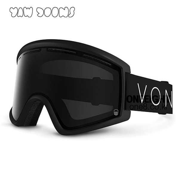 본지퍼 클리버 고글 #BV470100 1718 VONZIPPER YAWGOONS/BLACK OUT