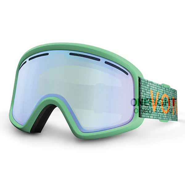 본지퍼 트라이크 고글 #BV4703MN 1718 VONZIPPER MINT SATIN/GREEN CHROME