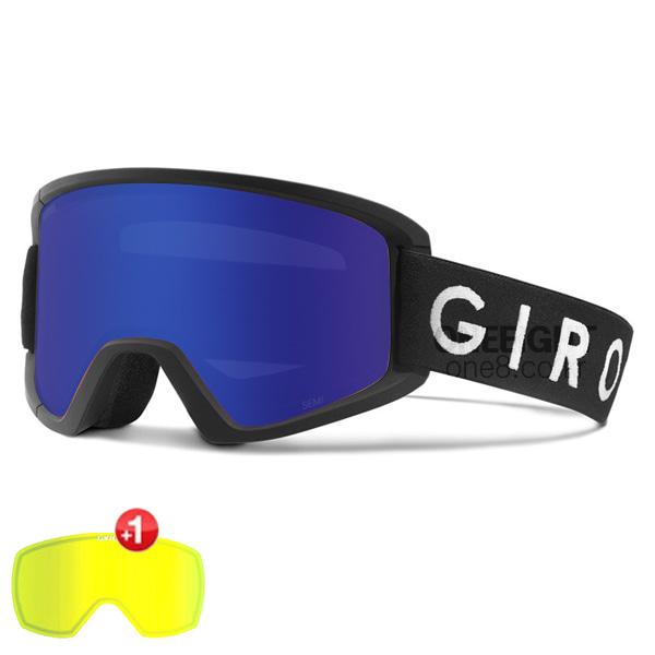 지로 세미 고글+보너스렌즈 #BGO704GY 1718 GIRO GREY COBALT