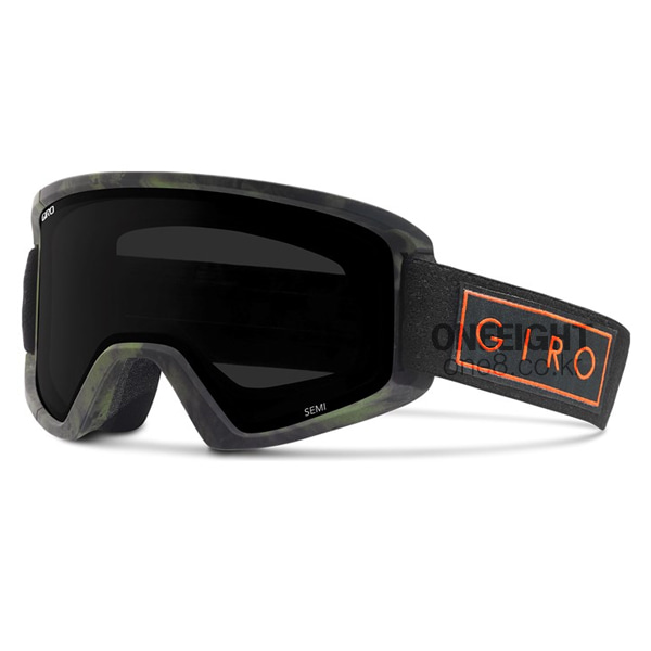 지로 세미 고글+보너스렌즈 #BGO704IM 1718 GIRO ULTRA BLACK