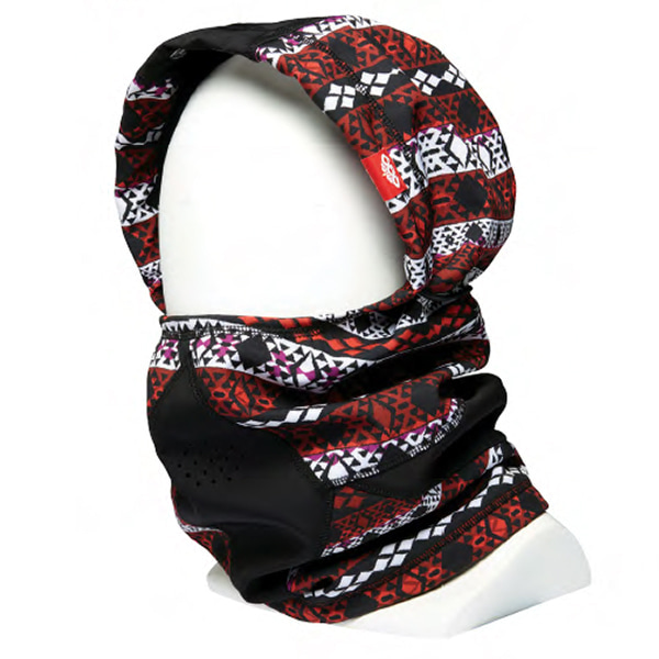 우먼 686 헌터레스 페이스 마스크#L69702REL7WFMSK08-NORD RED NORDIC PRINT1718 686 WMS HUNTERESS FACE MASK