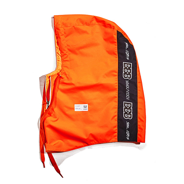 비에스레빗 BBB 워터프루프 집업 후드워머 (방수) #LBS705OR / ORANGE 1718 BSRABBIT BBB WATERPROOF ZIP UP HOODWARMER