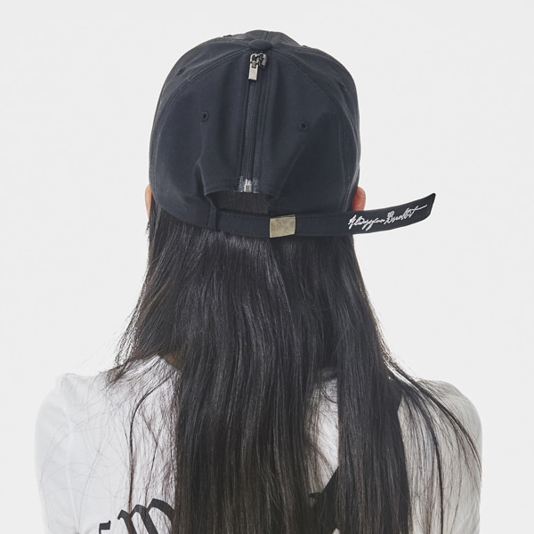 비에스래빗 오픈지퍼 모자  #IBS815BK / BLACK 1819 BSRABBIT BSR OPEN ZIPPER CAP