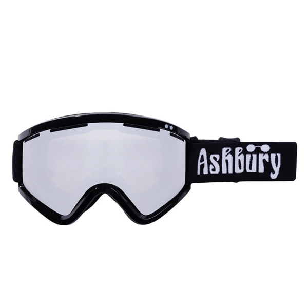 애쉬버리 고글 블랙버드 BA5802BK / SILVER MIRROR LENS 1819 ASHBURY BLACKBIRD BLACK