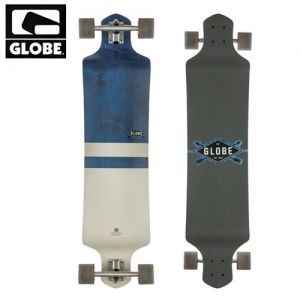 글로브 롱보드 컴플릿 # / 41 GLOBE 41 GEMINON BLUEDIA/WHT DROP DOWN LONGBOARD