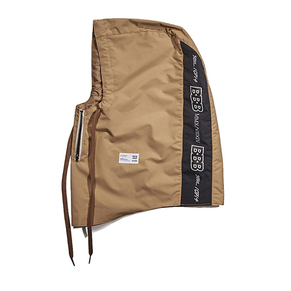 비에스레빗 BBB 워터프루프 집업 후드워머 (방수) #LBS705BY / BEIGE 1718 BSRABBIT BBB WATERPROOF ZIP UP HOODWARMER