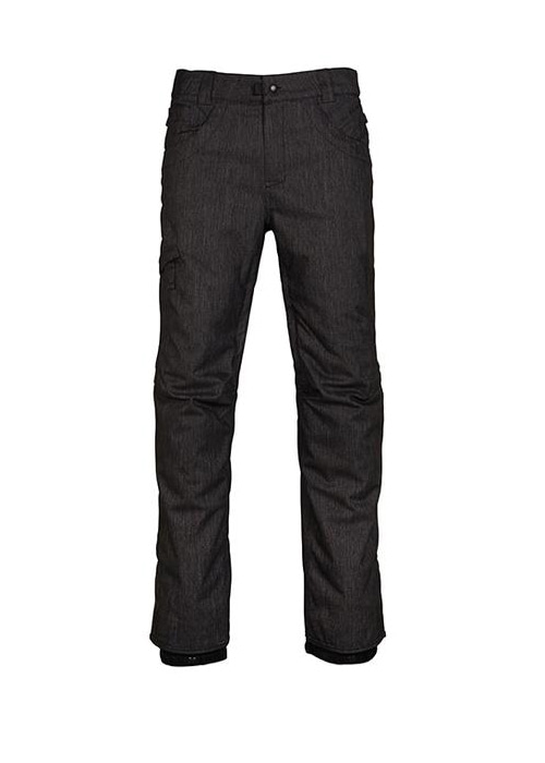 육팔육/686 보드복 로우 인슐 팬츠 #969707AH / BLACK DENIM 686 RAW INSULATED PANT L7W209-BLKD