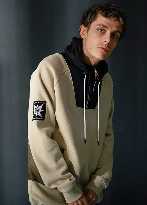 볼컴 후드/후디 A.P. 풀오버 #RV5819Y4 / FTH (FEATHER GREY) 1819 VOLCOM A.P. P/O PULL OVERA4131850