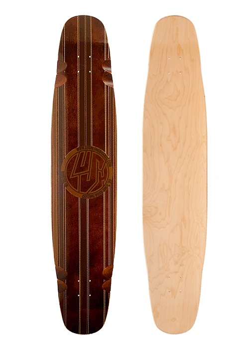 러쉬 롱보드 데크 46_LUSH_DECK_LEGEND 46_WOOD GRAIN_Z1L300144