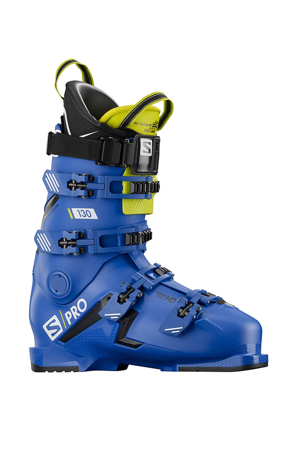 1920 살로몬 스키 부츠 에스프로 130 SALOMON(L40873300)S/PRO 130 BOOT FITTER FRIENDLY_RACE BLUE/BLACK/ACID GREEN_B5SA921B1