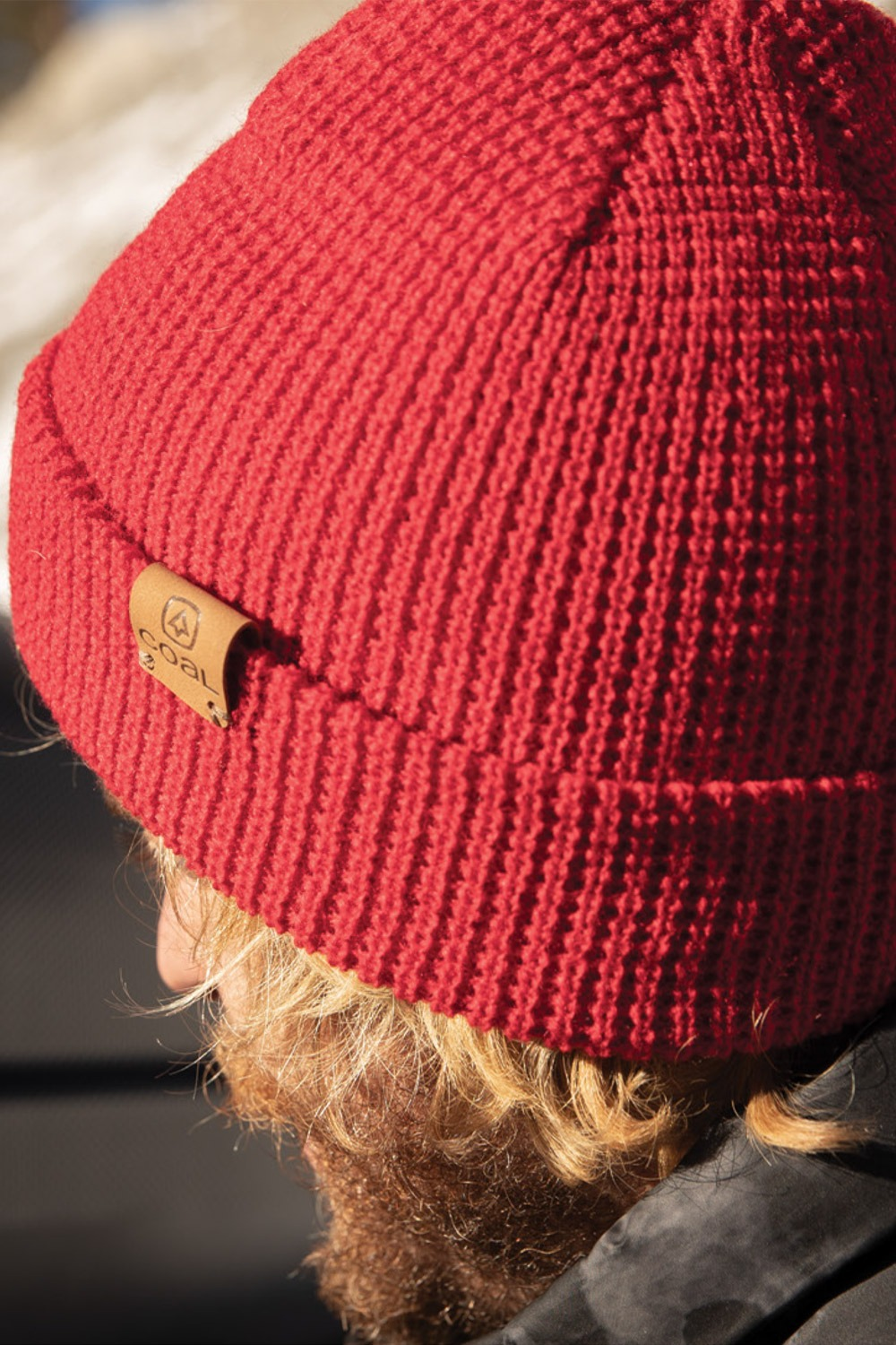 2021 콜 주노 비니 모자  COAL THE JUNO BEANIES_RED (RED)_DICA004RE