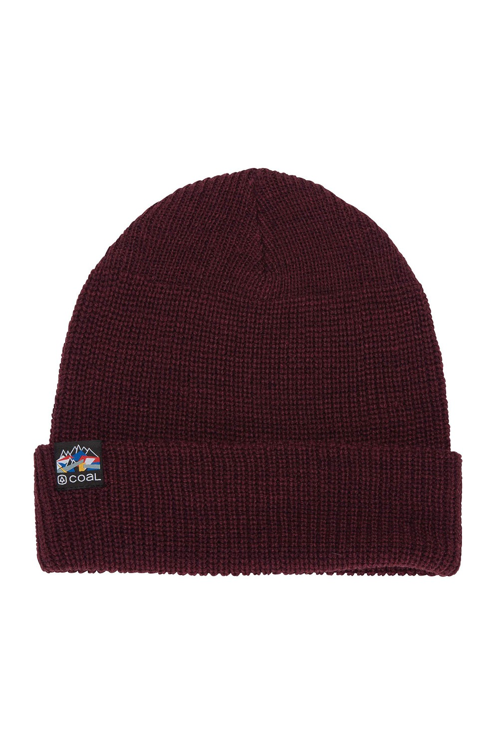 2021 콜 스쿼드 숏비니 모자  COAL THE SQUAD BEANIE_MAR (MAROON)_DICA013MR