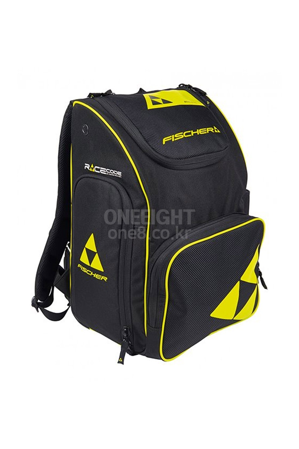 피셔 다용도 백팩 레이스 70L  1819 FISCHER BACKPACK RACE 70L_BLACK/YELLOW_FKF4801YK