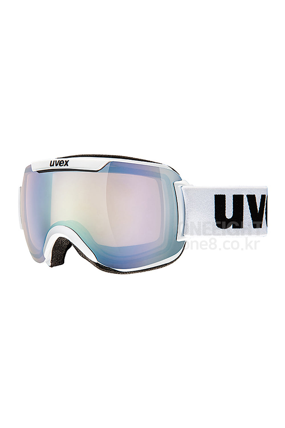 우벡스고글 다운힐 2000 VLM 아시안핏 UVEX_(04) DOWNHILL 2000 VLM-ASIAN FIT_WHITE/LITEMIRROR SILVER, VARIOMATIC-S1-S3_아시안핏/주간용/변색렌즈_DBUV804WH