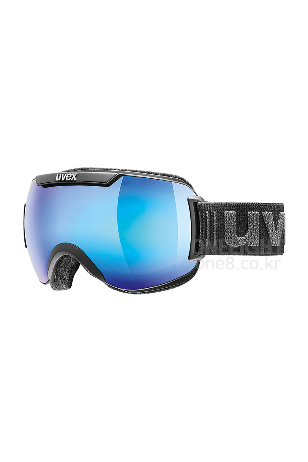 우벡스 고글 다운힐 2000 FM UVEX_(07) UVEX DOWNHILL 2000 FM-ASIAN FIT_BLACK MAT/MIRROR BLUE-S3_아시안핏/주야겸용_DBUV807BK