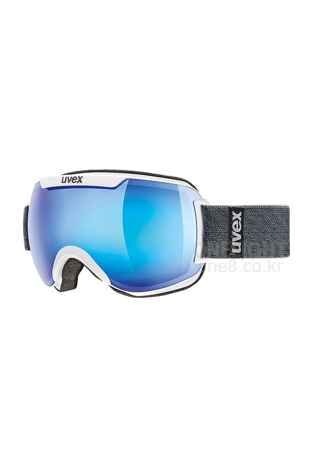 우벡스 고글 다운힐 2000 FM UVEX_(08) UVEX DOWNHILL 2000 FM-ASIAN FIT_WHITE/MIRROR BLUE-S2_아시안핏/주야겸용_DBUV808WH