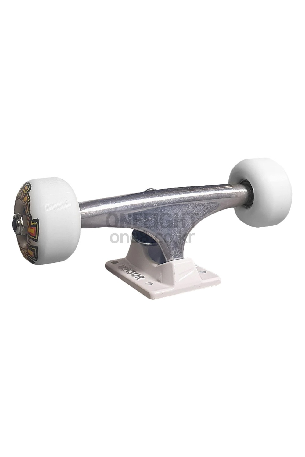 텐서 스케이트보드 트럭_TENSOR_BLIND OG STRETCH TRUCK RAW/WHT 5.25 & WHEEL COMBO_ZHT904500