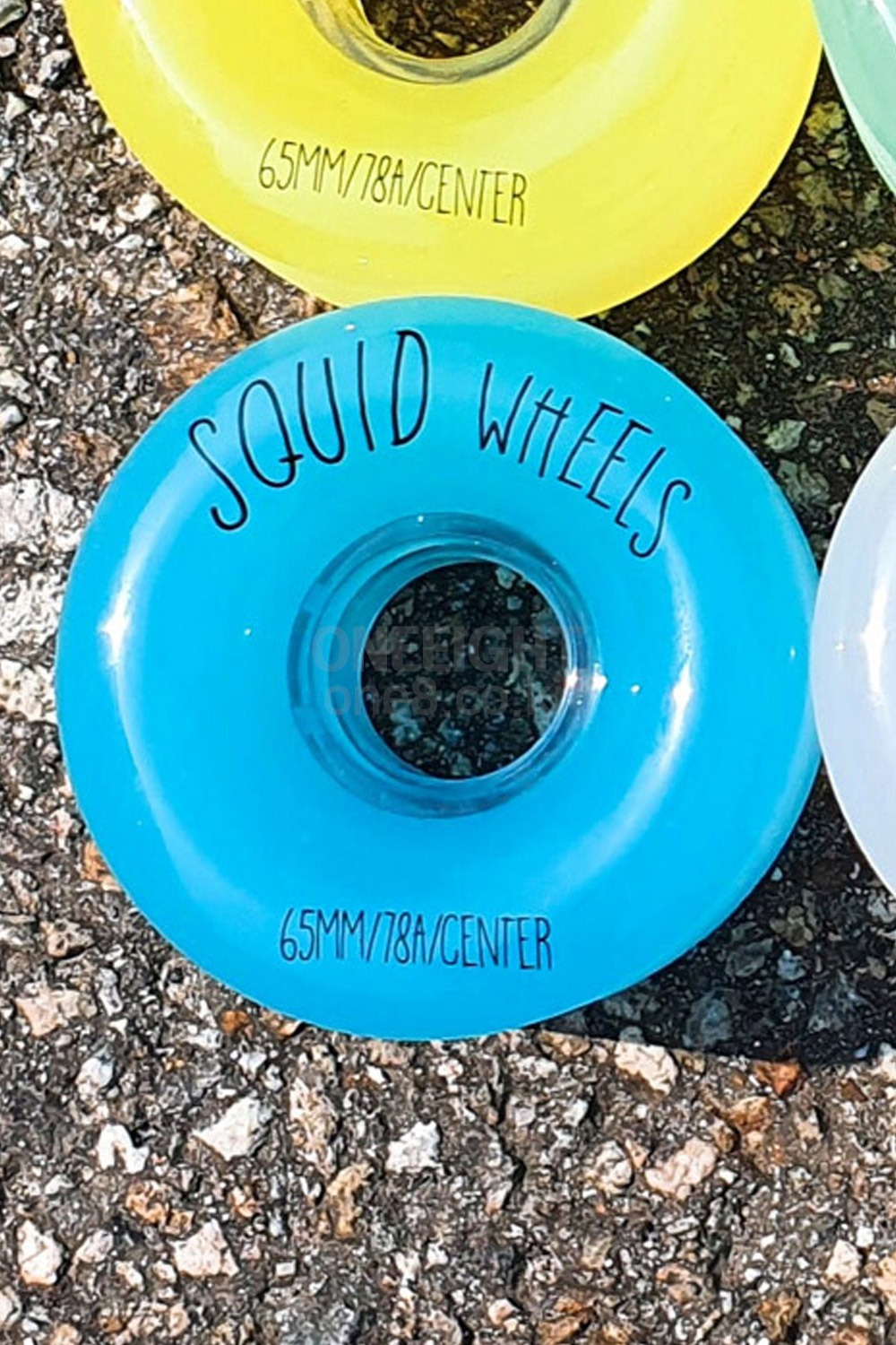 스퀴드 롱보드 휠/바퀴 65MM_SQUID_GELATIN WHEELS 65MMR_BLUE_XID701BU_ZHID701BU