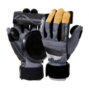 LOADED / #DLD601B5[로디드 장갑]LOADED FREERIDE GLOVES GRAY/BLACKM