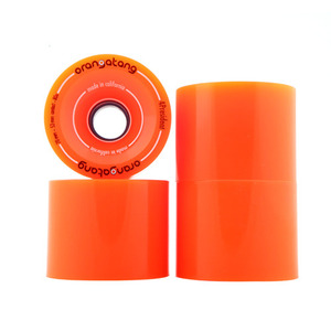 로디드 오랑탕 휠/LOADED ORANGATANG 70MM 80A 4 PRESIDENT ORANGE_XLD609OR