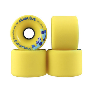 로디드 오랑탕 휠/LOADED ORANGATANG 70MM 86A STIMULUS YELLOW_XLD610YE