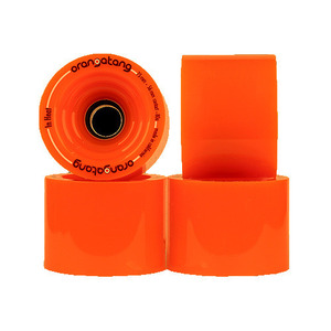로디드 오랑탕 휠/LOADED ORANGATANG 75MM 80A IN HEAT ORANGE_XLD612OR
