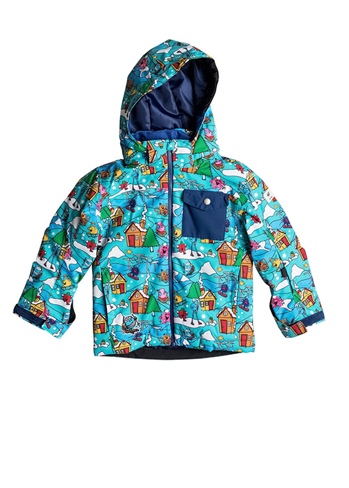 퀵실버 키즈 보드복 유스 자켓 YQS702CB / WBK6 QUIKSILVER YOUTH MR MEN LITTLE MISSION KIDS JACKET