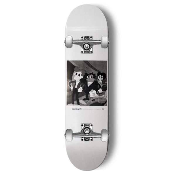 모노파틴 스케이트보드 컴플릿/MONOPATIN OLD CARTOON-USA FULL CUSTOM COMPLETE SKATEBOARD 사이즈선택_