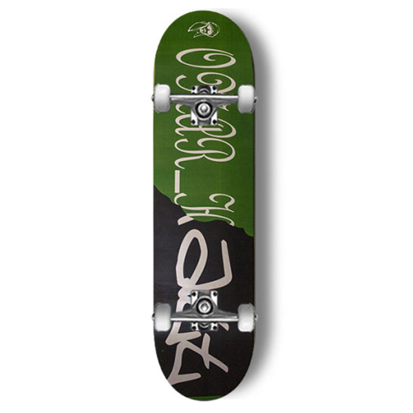 모노파틴 스케이트보드 컴플릿/MONOPATIN OMAR HATT SIGNATURE FULL CUSTOM COMPLETE SKATEBOARD 사이즈선택_