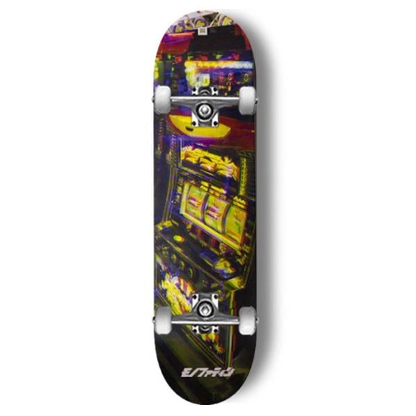 모노파틴 스케이트보드 컴플릿/MONOPATINxHILLSIDE SLOT MACHINE CUSTOM COMPLETE SKATEBOARD 사이즈선택_
