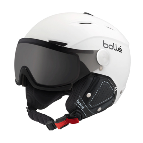 볼레 스키 헬멧 백라인 VP 소프트 F0B804WB / WHITE/BLACK MOD SILVER VISOR 1819 BOLLE BACKLINE VP SOFT