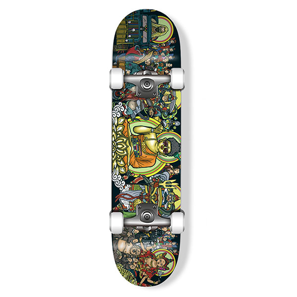 "모노파틴 스케이트보드 컴플릿/MONOPATINxDOLTAE COLLABORATION ""TANHWA"" COMPLETE SKATEBOARD_"
