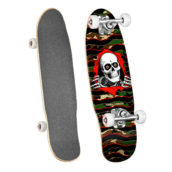 파웰 크루저보드 컴플릿 7.5 x 24 POWELL Peralta Mini Ripper 5 Cruiser - Camo_ZPU90200