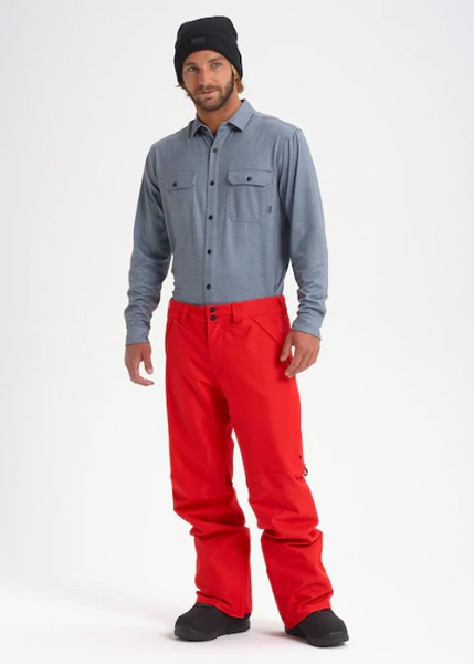 버튼 고어텍스 벤트 팬츠_REGULAR FIT_1920 BURTON_GORE-TEX VENT PANT_FLAME SCARLET_9B2907SC [14]