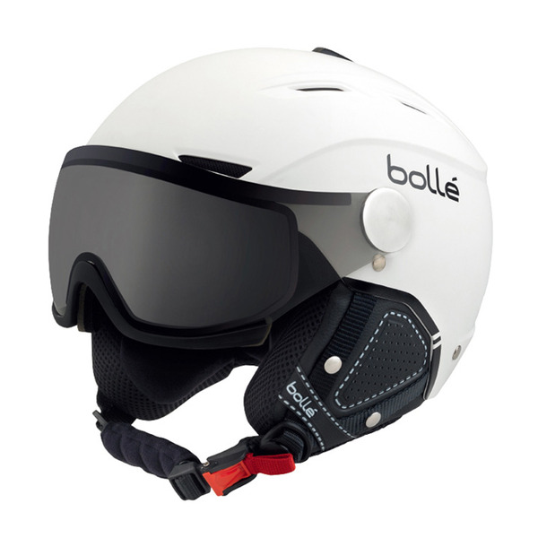 볼레 스키 헬멧 백라인 VP 소프트 F0B804WB/WHITE/BLACK MOD SILVER VISOR 1819 BOLLE BACKLINE VP SOFT_DF0B804WB