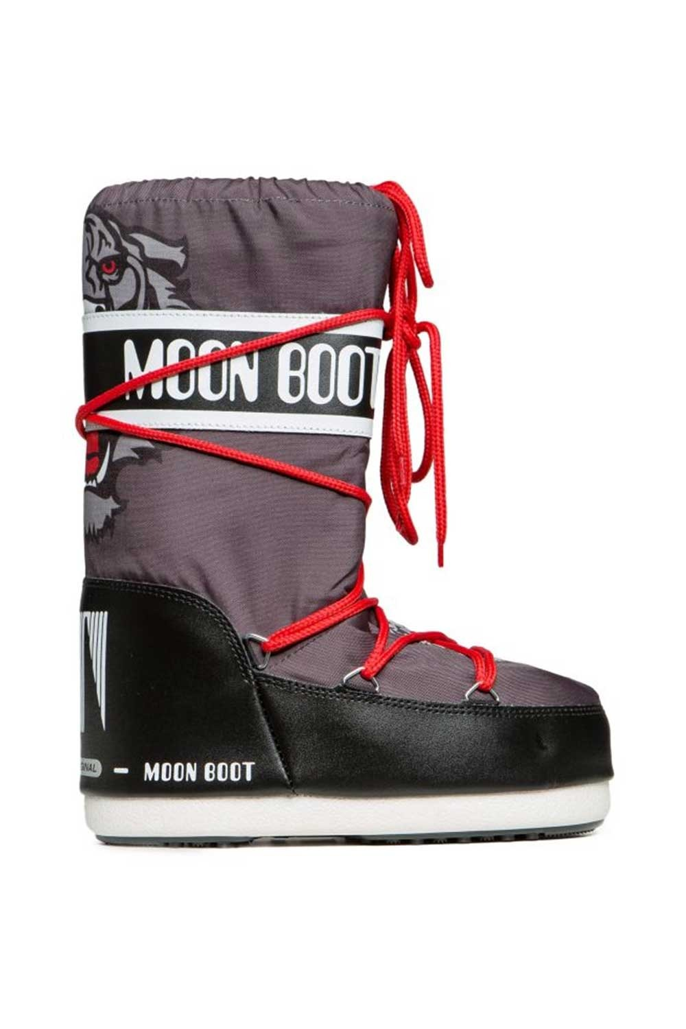 문부츠 키즈 방한부츠 JR 보이 타이거_MOONBOOT YOUTH MOON BOOT JR BOY TIGER_BLACK/ANTHRACITE_VMQ875BK_AVMQ875BK