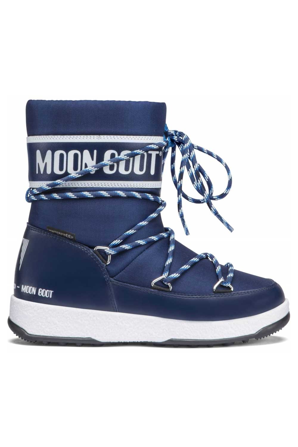 문부츠 키즈 방한부츠 JR 보이 스포츠 WP_MOONBOOT YOUTH MOON BOOT JR BOY SPORT WP_BLUE NAVY_VMQ855BU_AVMQ855BU