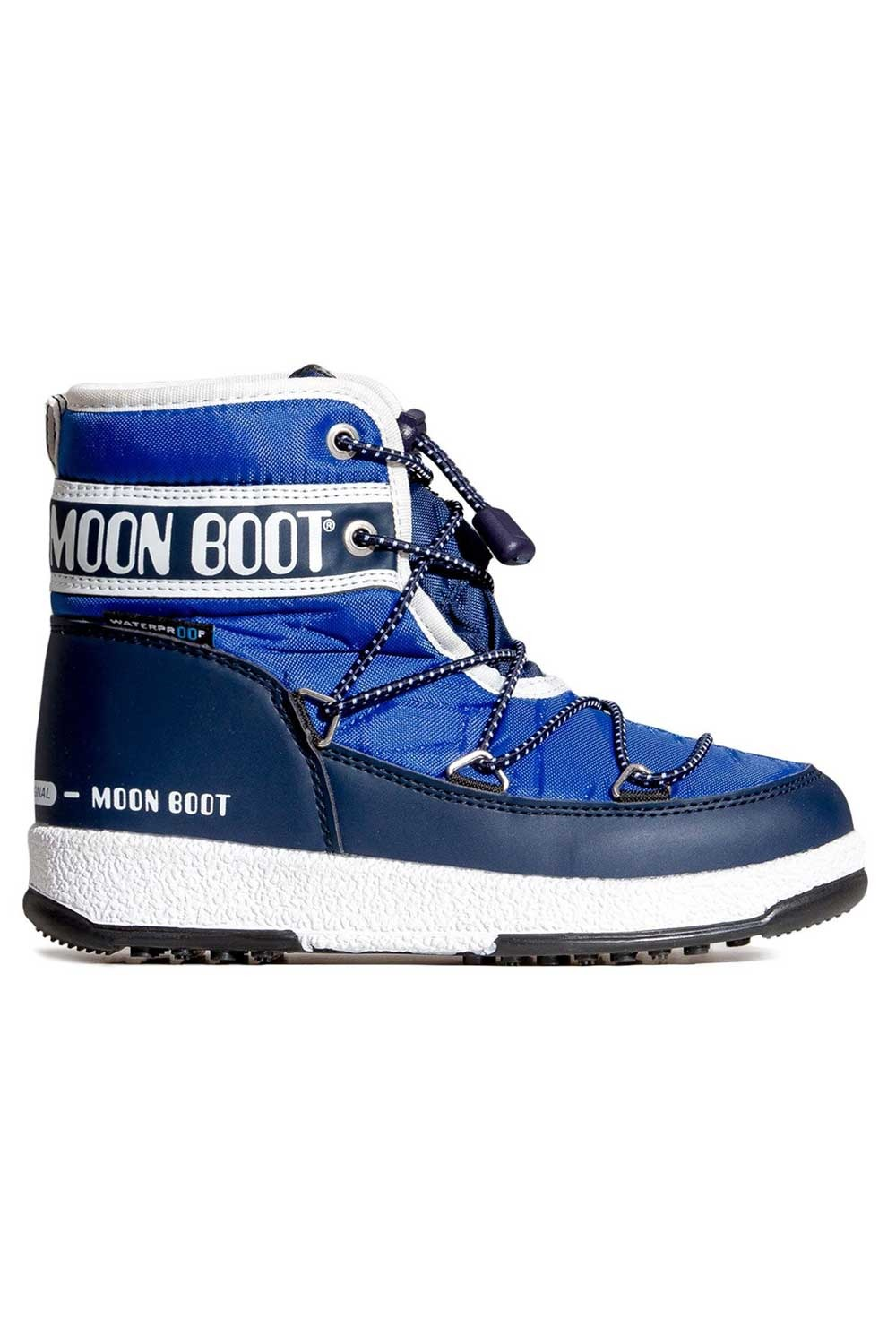 문부츠 키즈 방한부츠 JR 보이 미드 WP_MOONBOOT YOUTH MOON BOOT JR BOY MID WP_ROYAL/NAVY_VMQ857RY_AVMQ857RY