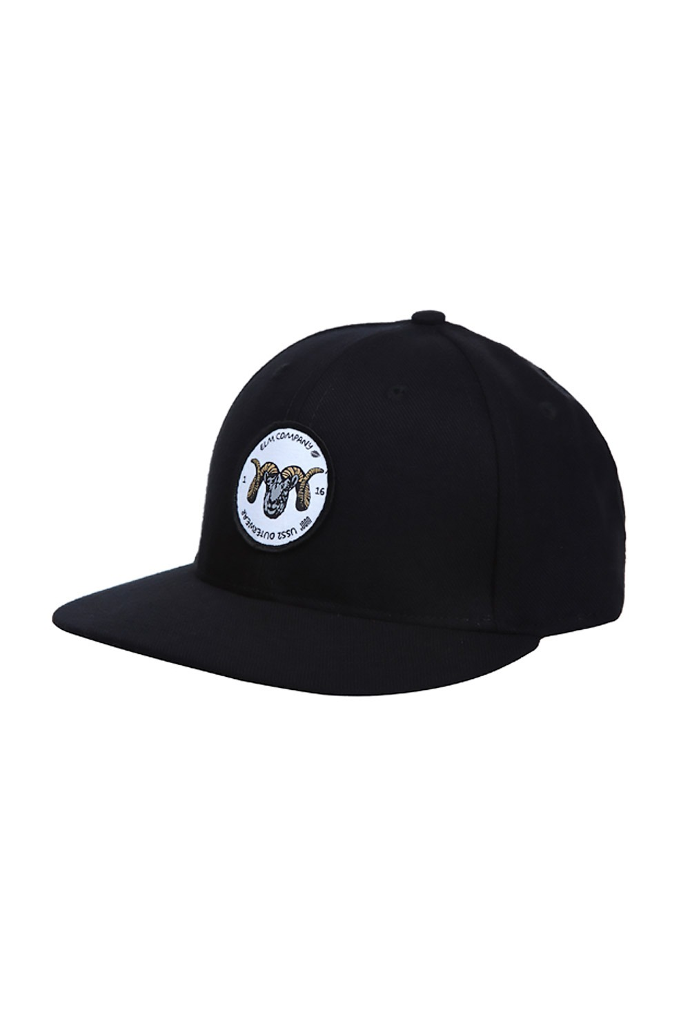 USS2/IU2501BK[어스투 X ELM 스냅백] SNAPBACK BK - MADE IN USA_FIU2501BK