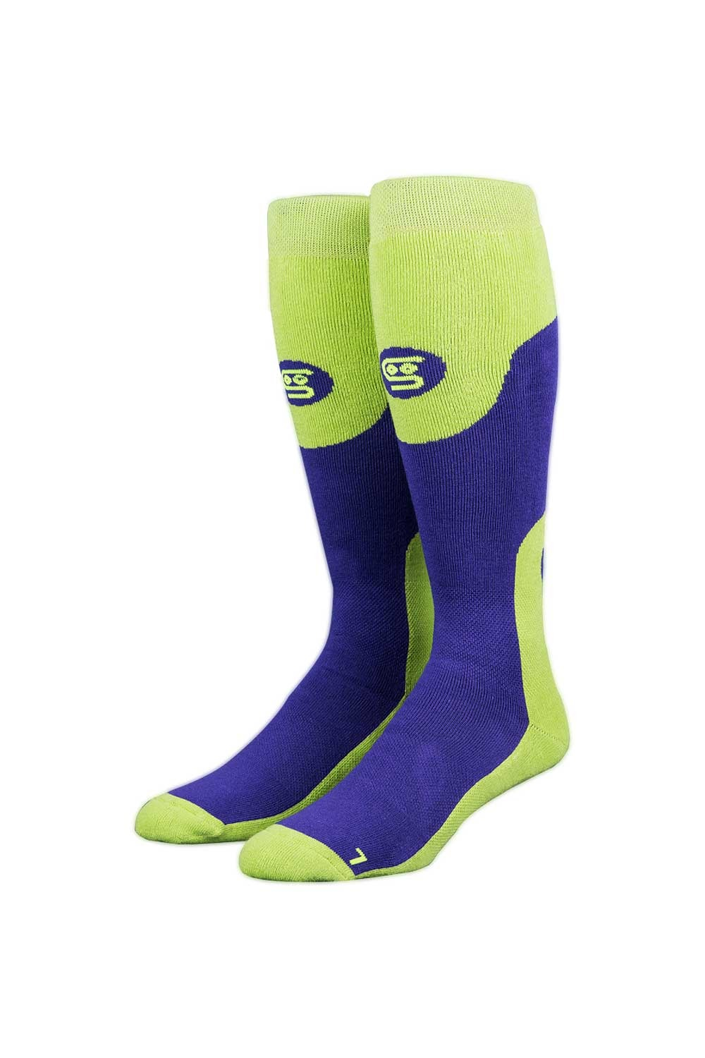 스팅키삭스 퍼플헤이즈 스노보드 양말 JKY711PG/PURPLE/GREEN STINKY SOCKS PURPLE HAZE SOCKS_FJKY711PG