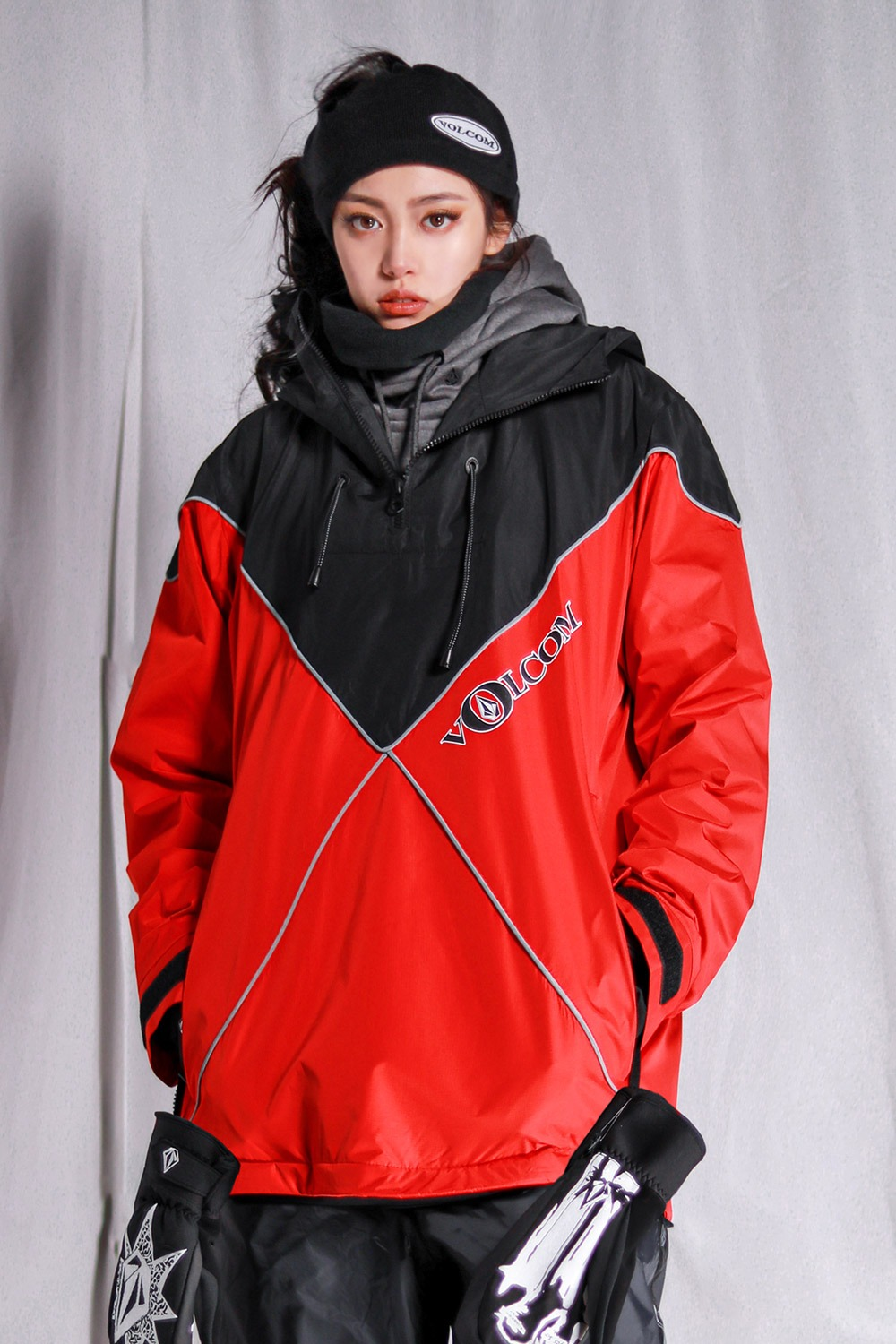 2021 볼컴 JP x WP 자켓 VOLCOM JP X WP JACKET_RED (RED)(G1502100-RED)_포인트스카치리플렉터_A7V5085RE