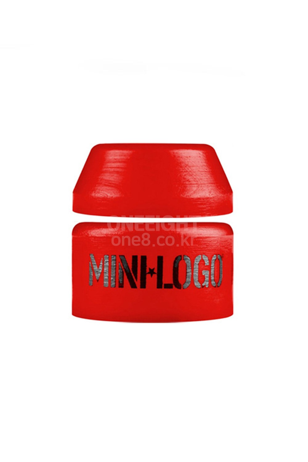 미니로고 스케이트 부싱 XMD806RE / MINILOGO HARD BUSHINGS SINGLE 100A RED [1SET]