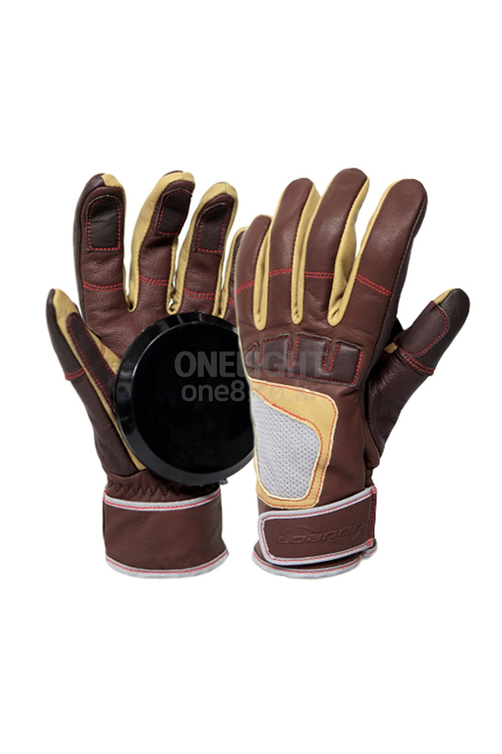 로디드 롱보드 프리라이드 글러브/DLD602TB_LOADED_ADVANCED FREERIDE GLOVES_BROWN/TAN_SDLD602TB