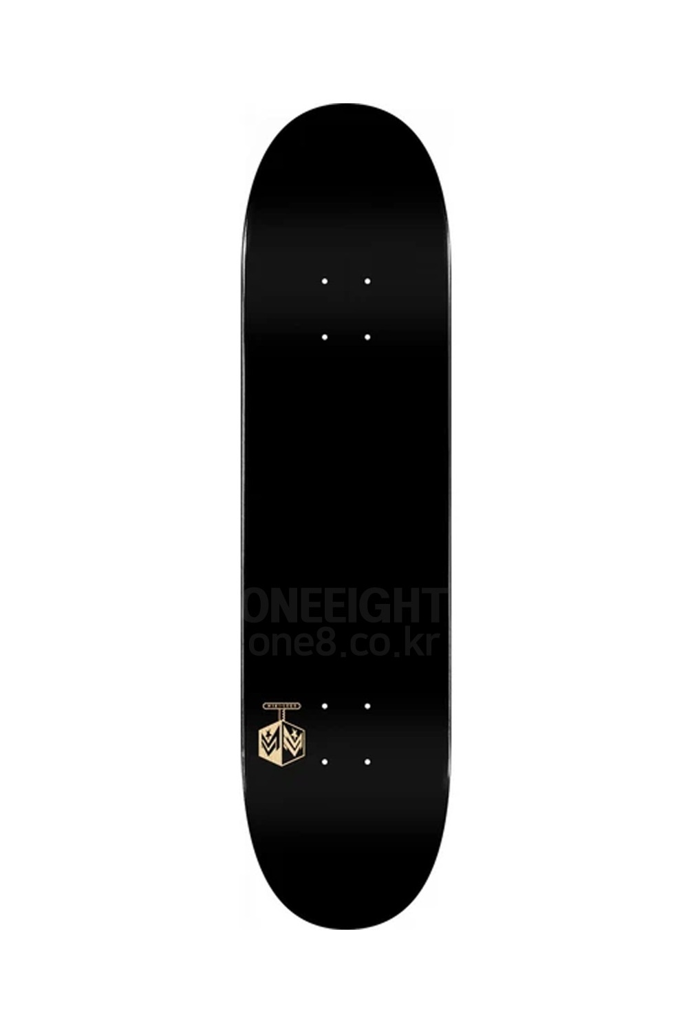 미니로고 스케이트 데크 MINILOGO_DECK_CHEVRON DETONATOR 15 BIRCH SOLID BLACK 8.0 X 31.45_Z1MD115BK
